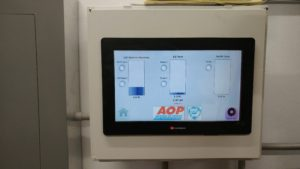 Brewing wastewater PLC and HMI