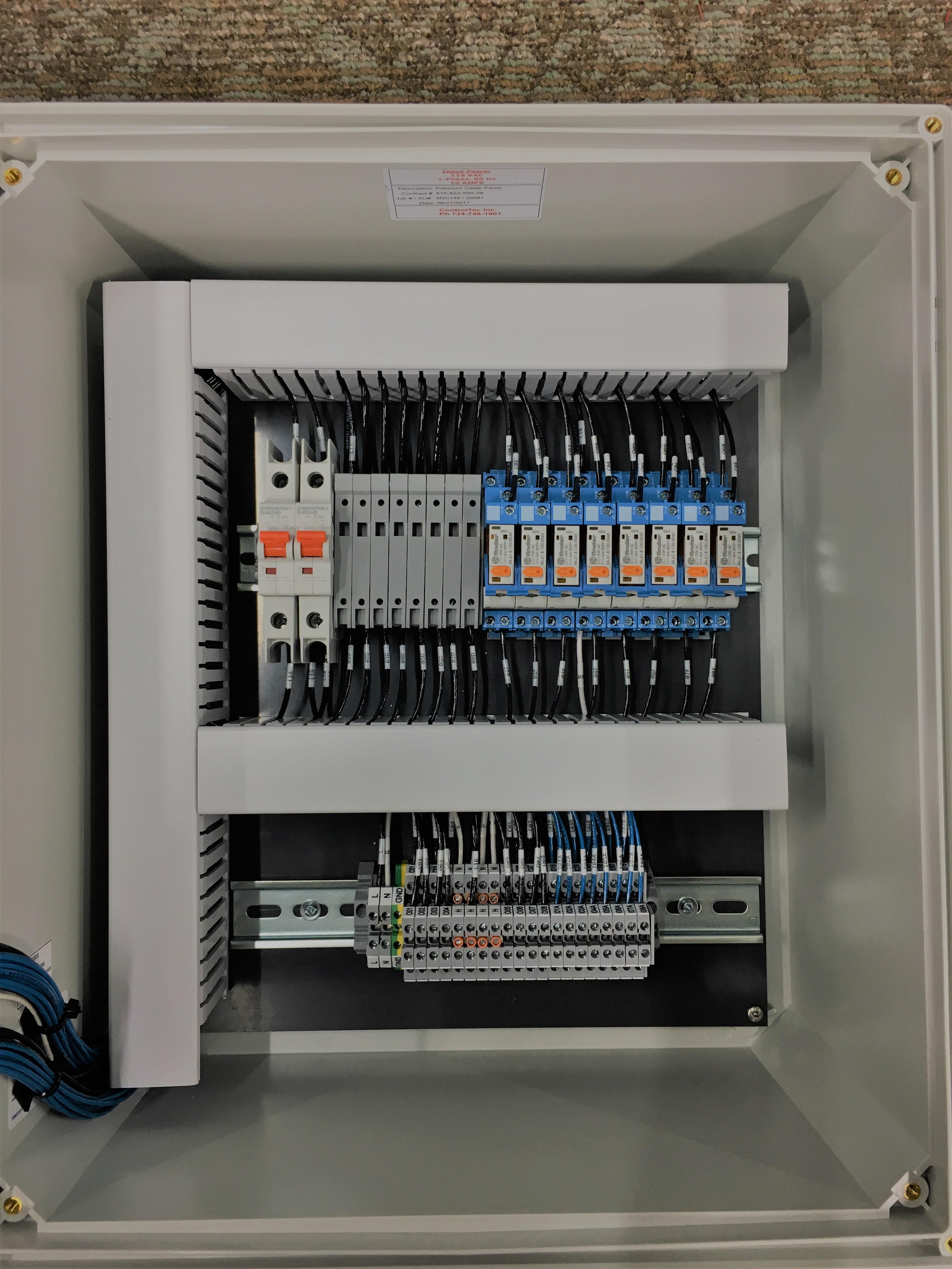 Temperature Control Panels For Fermentation Amps