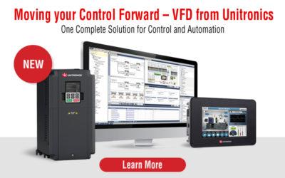 VFD from Unitronics