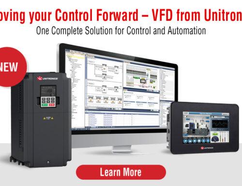Unitronics VFD Integrates AC Drive & PLC