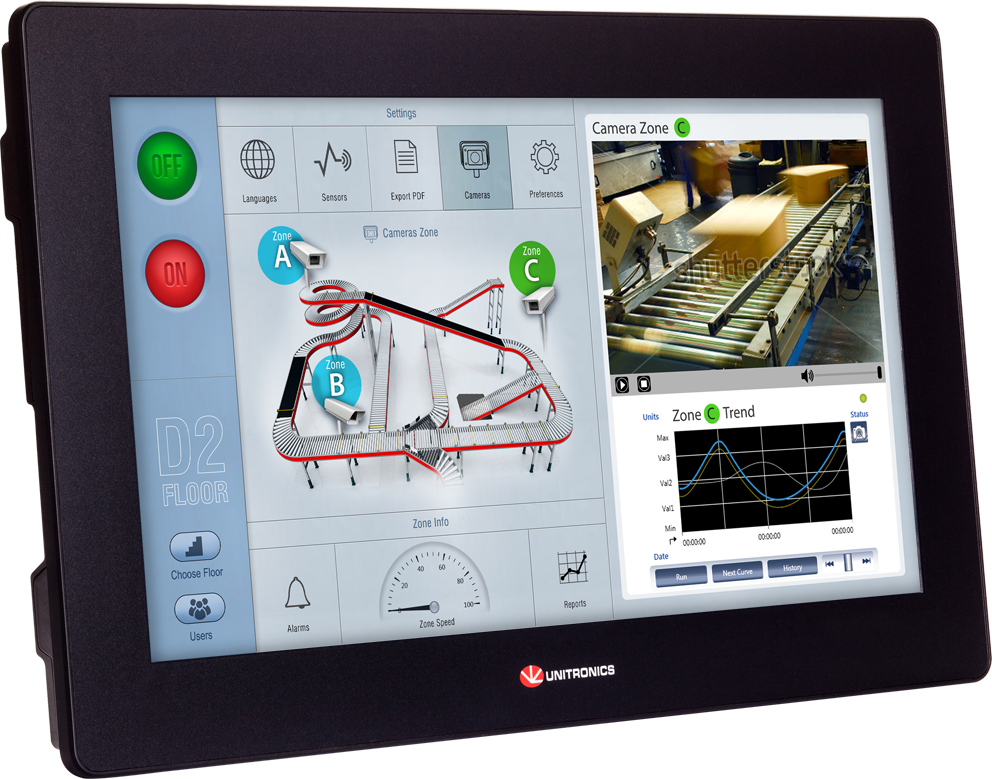 Unitronics is our Choice for PLC and HMI | AMPS Industrial